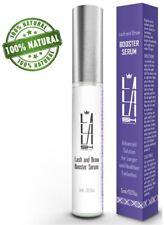 La La Lash Natural and Organic Eyelash Growth Serum Eyebrow Growth Serum - NEW