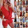 Womens Boho Floral Jumpsuit Playsuit Romper Ladies Casual Summer Beach Shorts