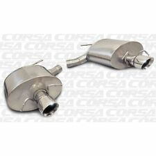 Corsa 11-13 Cadillac Cts Wagon V 6.2L V8 Polished Sport Axle-Back Exhaust 14948