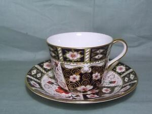Royal Crown Derby Tea Cup & Saucer Imari Pattern 2451