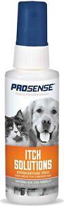 ProSense ITCH 0.5% Hydrocortisone DOG CAT Spray Irritated Skin Alcohol FREE