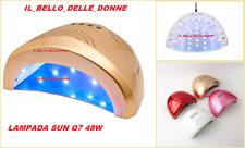 SUNQ7 LAMPADA  48W  UV/LED GEL UNGHIE FORNETTO COLATA MANI PIEDI RICOSTRUZIONE
