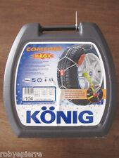 Catene da neve konig comfort magic 104 9mm 9 mm 235/60-16  245/55-16  235/70