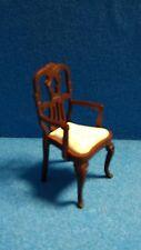 1/12 Scale Casa De Muñecas Muebles Silla Con Brazos dhd3269a