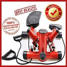 MINI STEPPER CARDIO HOME EXERCISE WORKOUT CALVES TRAINER FITNESS THIGHS GYM ROPE