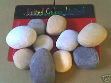Replacement Gas Fire Pebbles (10) FREEPOST!!!!!!