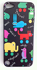 Cartoon Animals iPod Touch 5 Printed Cover Case for Apple