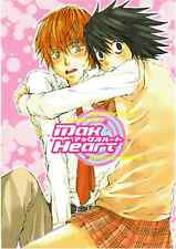 Death Note YAOI Shonen Ai Doujinshi Dojinshi Comic Light x L Max Heart Kokuyo