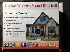 "3.5"" LCD Visual Monitor Digital Peephole Wireless Door Viewer Visual Camera US"