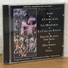 PAUL FREEMAN (CD, 1992) Annie/A Chorus Line/Les Miserables/La Cage/42nd/Gypsy/Th