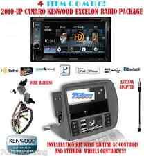 KENWOOD RADIO DDX492 + SCOSCHE GM5201AB 2010 & UP CHEVY CAMARO DASH KIT INSTALL