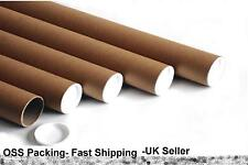 """1 x 1320mm 52"""" x 2"""" 50mm EXTRA LONG CARDBOARD POSTAL TUBES Mailing Posters ART"""