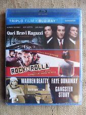 Quei Bravi Ragazzi / RocknRolla / Gangster Story - Triplo Blu-ray Disc nuovo