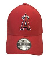 New ERA 39Thirty Los Angeles Angels Hat Red Stretch S/M