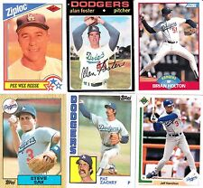 LOS ANGELES DODGERS--Baseball Cards--9 Card Lot--FREE SHIPPING
