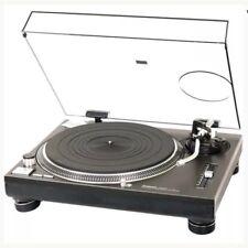 Technics SL 1210 1200 Black Agent Pro DJ Audiophile Dual Voltage Turntable NIB