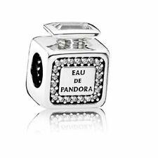 Authentic PANDORA Charm Silver 791889CZ Signature Scent Perfume Bottle A19