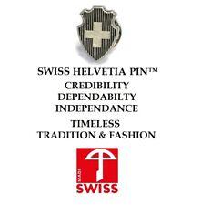 Swiss Helvetia Pin, Lapel Pin, Switzerland, Schweiz, Suisse, Svizzera