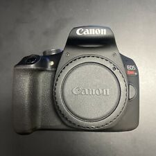 Canon EOS Rebel T7 24.1MP Digital Camera (Body Only). Used. S/N 222073074052