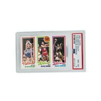 1980 TOPPS VAN BREDA KOLFF-JULIUS ERVING-MAGIC JOHNSON RC PSA 8 LOW POP!!!!