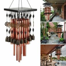 Large 28 Tubes Wind Chimes Copper Church Bell Outdoor Garden Decor