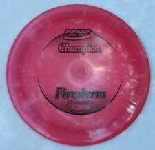 Innova Firestorm 175.55 Grams [14-Speed] Pearly Pinkish Red w/Black Hot-Stamp