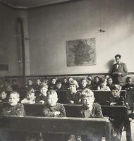Lot 6 photos École libre Troyes Aube, 1936 Histoire scolaire Education nationale