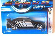 2006 Hot Wheels FIRST EDITIONS #16 ∞ AMG-MERCEDES CLK DTM ∞ BLACK W/10SPOKE WHLS