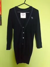 ABERCROMBIE&FITCH NAVY JUMPER CARDIGAN size S