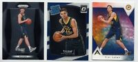 (3 DIFFERENT) T.J. LEAF Rookie Card RC LOT Indiana Pacers 2017-18 Prizm + Optic