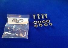 MB/GPW JERRY CAN BRACKET MOUNT KIT 12 PCS.  WW2  MILITARY ARMY JEEP
