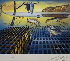 """Salvador Dali limited edition .""""The Disintegration of the Persistence of Memory"""""""