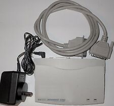HP External Print Server Jetdirect 170x Parallel cable Power Adapter