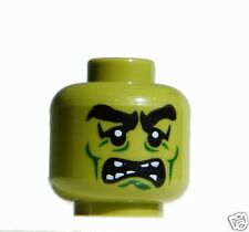 Lego Frankenstein Monster Minifigure Head from set 9466 or Make Your Own Zombies