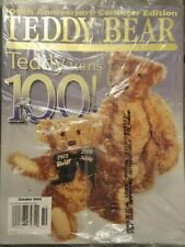 Teddy Bear Review Magazine Back Issue OCTOBER 2002 TEDDY TURNS 100!