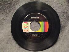 "45 RPM 7"" Record Burl Ives Call My Name & My Gal Sal Decca Records 31729 VG+"