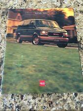 1996 GMC SAFARI 26-page Original Dealer Brochure