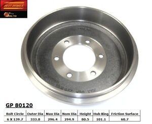 Brake Drum-Standard Rear Best Brake GP80120