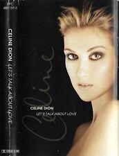 Céline Dion Let's Talk About Love CASSETTE ALBUM EPC 4891594 Pop Ballad HOLLAND