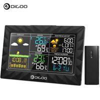 DIGOO USB Wireless Weather Station Indoor & Outdoor Thermometer Sunrise Sunset