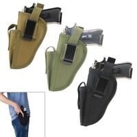 Molle Military Tactical Pistol Holster Waist Belt Hand Gun Holster Right & Left