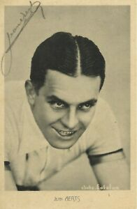 JEAN AERTS, WORLD CHAMPION 1935! Hand-Signed Cycling Autograph, Photo 9x14cm
