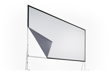 Av Stumpfl 15' x 45' Vario Replacement Rear Projection Surface/Screen With Case