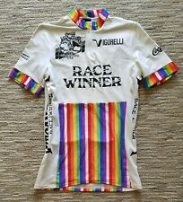 1987 Vulcan Tour Race Winner Jersey Redding 7 Eleven Cycling Team - Alexi GREWAL