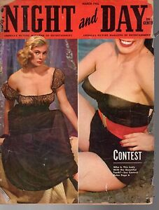 1955 Night and Day March - Mamie Van Doren;Jane Russell; Road Bowling in Ireland