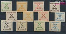 Großräschen 31-42 (compleet Kwestie) met Fold 1945 Mallets en Strijk (9363719
