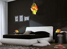 Abatjour Lampada design colorata viola da comodino per camera da letto MONTATA
