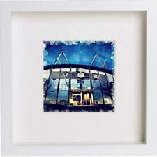 Watercolour Print Hull City Football Club The KCOM Stadium 23x23cm Frame 87