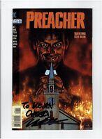 Preacher #1 1995 Signed by Garth Ennis High Grade AMC TV Show