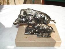 Sanglier  Figurine presse papier art deco 1930 régule